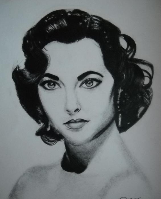 Elizabeth Taylor by biaky10